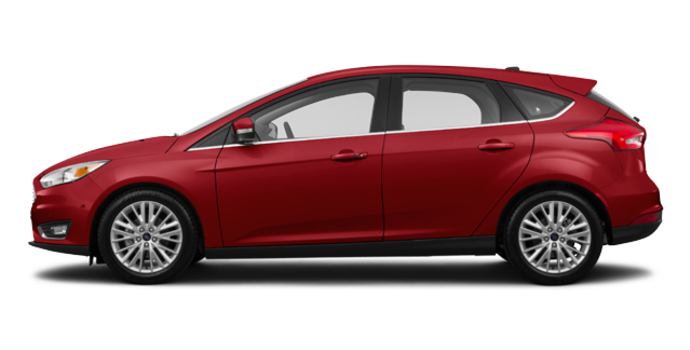 2017 Ford Focus Hatchback TITANIUM | Photo 4 | Ruby Red