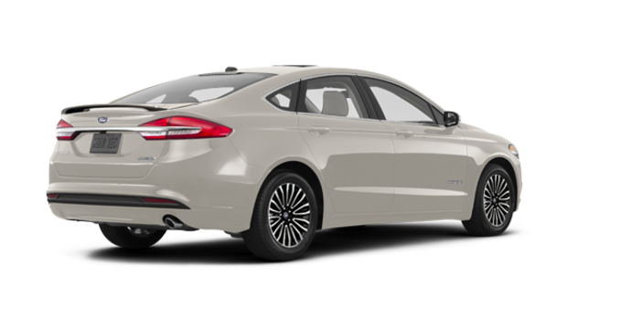 2017 Ford Fusion Hybrid PLATINUM | Photo 5 | White Gold