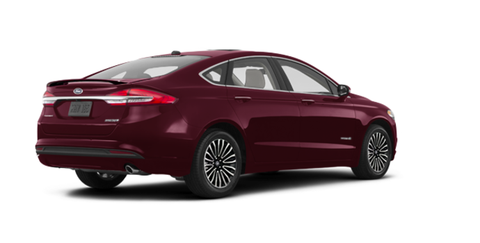 2017 Ford Fusion Hybrid PLATINUM | Photo 5 | Burgandy Velvet