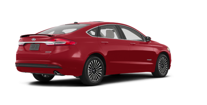 2017 Ford Fusion Hybrid PLATINUM | Photo 5 | Ruby Red