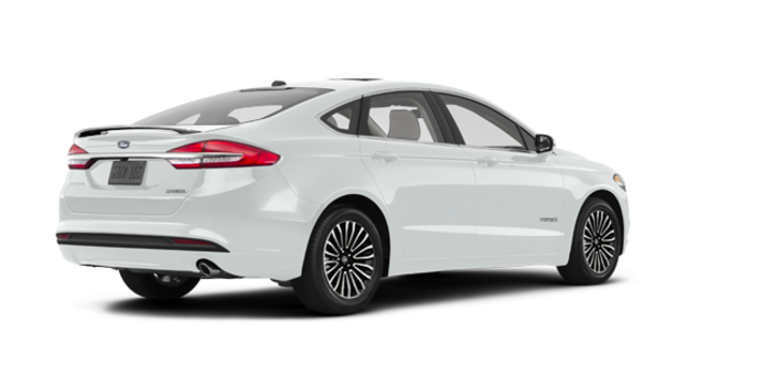 2017 Ford Fusion Hybrid PLATINUM | Photo 5 | White Platinum