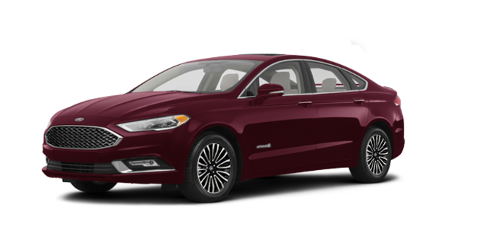 2017 Ford Fusion Hybrid PLATINUM | Photo 6 | Burgandy Velvet