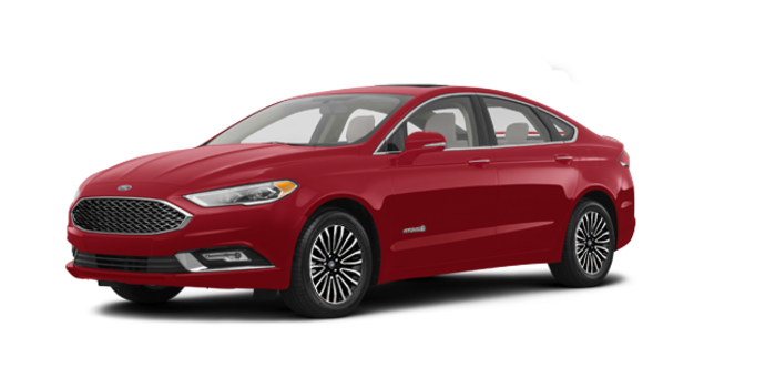 2017 Ford Fusion Hybrid PLATINUM | Photo 6 | Ruby Red