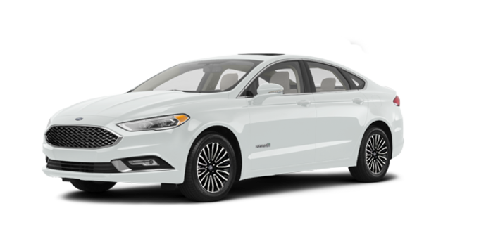 2017 Ford Fusion Hybrid PLATINUM | Photo 6 | White Platinum