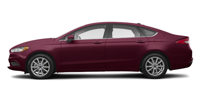 2017 Ford Fusion SE | Photo 4 | Burgandy Velvet
