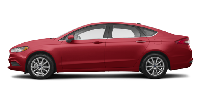 2017 Ford Fusion SE | Photo 4 | Ruby Red