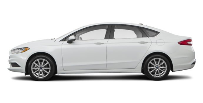 2017 Ford Fusion SE | Photo 4 | White Platinum