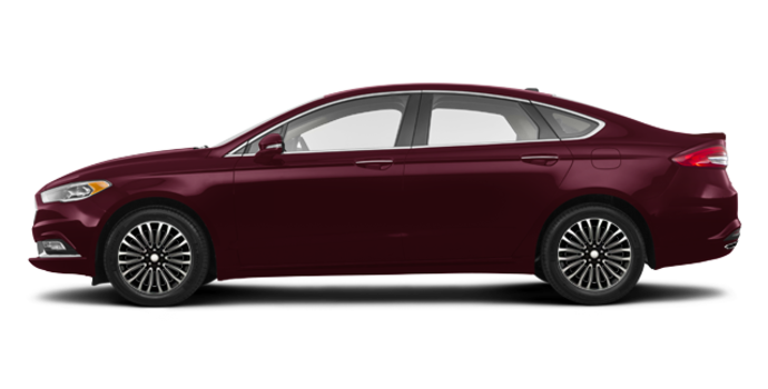 2017 Ford Fusion TITANIUM | Photo 4 | Burgandy Velvet