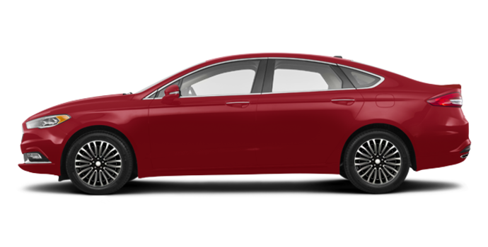 2017 Ford Fusion TITANIUM | Photo 4 | Ruby Red