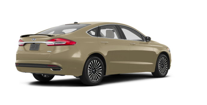 2017 Ford Fusion TITANIUM | Photo 5 | White Gold