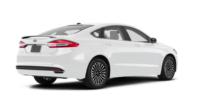 2017 Ford Fusion TITANIUM | Photo 5 | Oxford White
