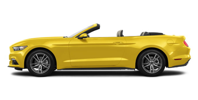 2017 Ford Mustang Convertible EcoBoost Premium | Photo 4 | Triple Yellow