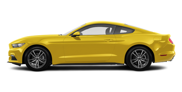 2017 Ford Mustang EcoBoost | Photo 4 | Triple Yellow