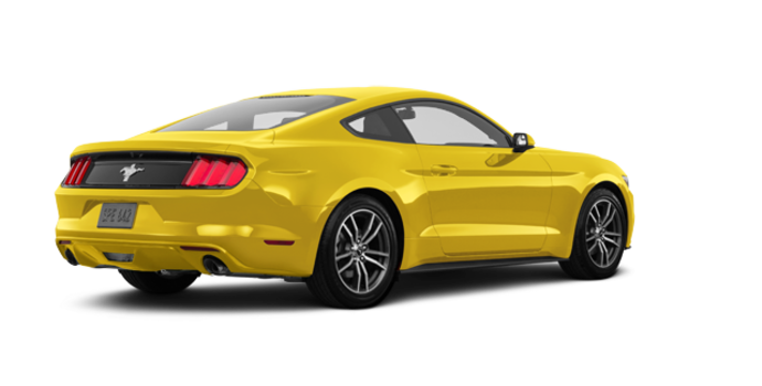 2017 Ford Mustang EcoBoost | Photo 5 | Triple Yellow