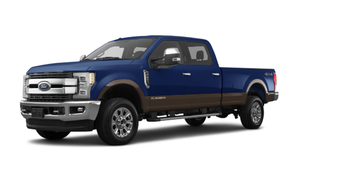 2017 Ford Super Duty F-250 KING RANCH | Photo 6 | Blue Jeans Metallic/Caribou