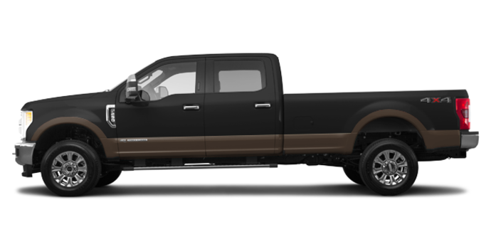 2017 Ford Super Duty F-250 LARIAT | Photo 4 | Shadow Black/Caribou