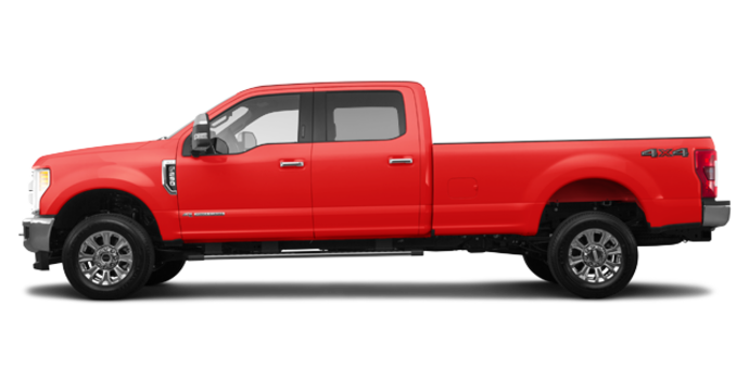 2017 Ford Super Duty F-250 LARIAT | Photo 4 | Race Red