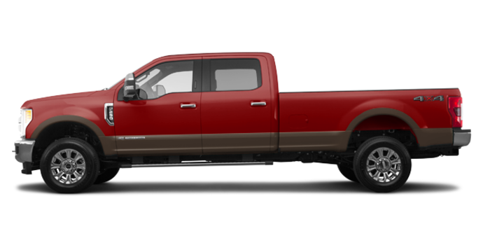 2017 Ford Super Duty F-250 LARIAT | Photo 4 | Ruby Red/Caribou
