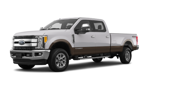 2017 Ford Super Duty F-250 LARIAT | Photo 6 | White Platinum Metallic/Caribou
