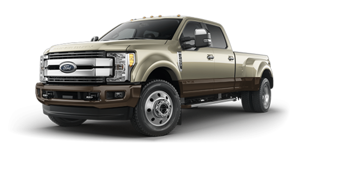 2017 Ford Super Duty F-450 LARIAT | Photo 6 | White Gold Metallic/Caribou