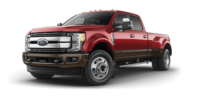 2017 Ford Super Duty F-450 LARIAT | Photo 6 | Ruby Red/Caribou