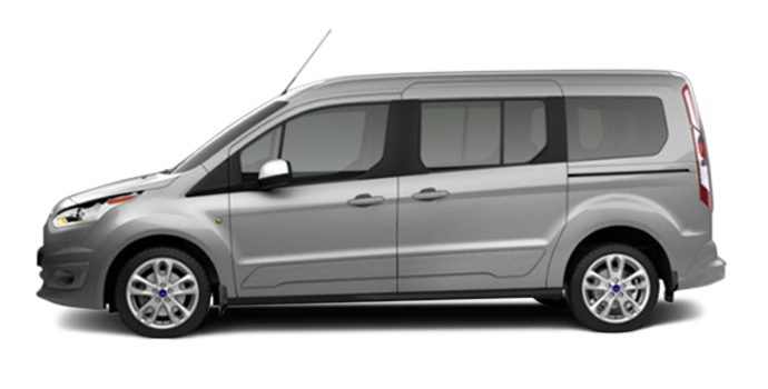 2017 Ford Transit Connect TITANIUM WAGON | Photo 4 | Silver