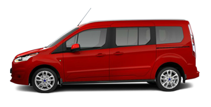 2017 Ford Transit Connect TITANIUM WAGON | Photo 4 | Race Red
