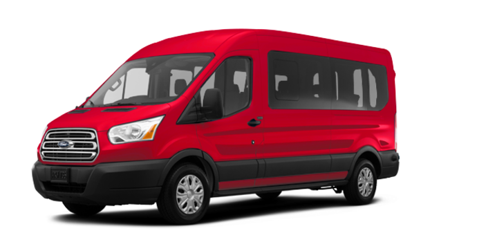 2017 Ford Transit WAGON XLT | Photo 6 | Race Red