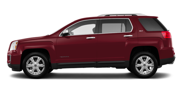 2017 GMC Terrain SLT | Photo 4 | Crimson Red Tintcoat