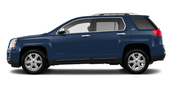 2017 GMC Terrain SLT | Photo 4 | Slate Blue Metallic