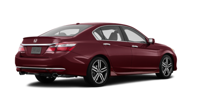 2017 Honda Accord Sedan TOURING V-6 | Photo 5 | Basque Red Pearl II