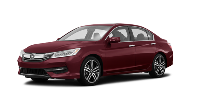 2017 Honda Accord Sedan TOURING V-6 | Photo 6 | Basque Red Pearl II