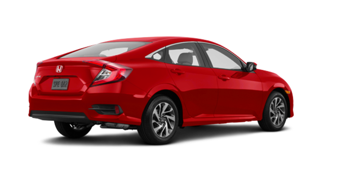 2017 Honda Civic Sedan EX | Photo 5 | Rallye Red