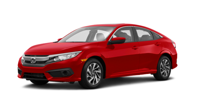 2017 Honda Civic Sedan EX | Photo 6 | Rallye Red