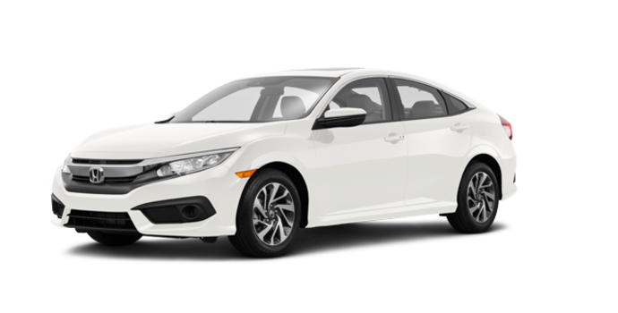 2017 Honda Civic Sedan EX | Photo 6 | White Orchid Pearl