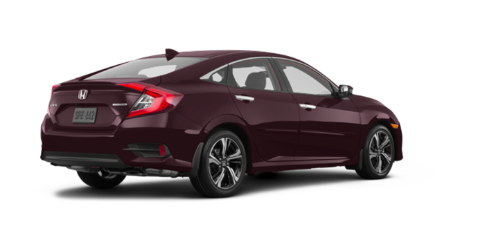 2017 Honda Civic Sedan TOURING | Photo 5 | Burgandy Nigth Pearl