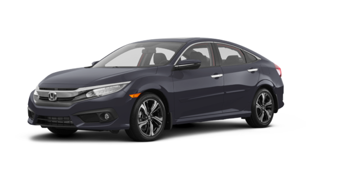 2017 Honda Civic Sedan TOURING | Photo 6 | Modern Steel Metallic