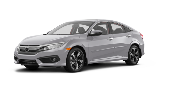 2017 Honda Civic Sedan TOURING | Photo 6 | Lunar Silver Metallic