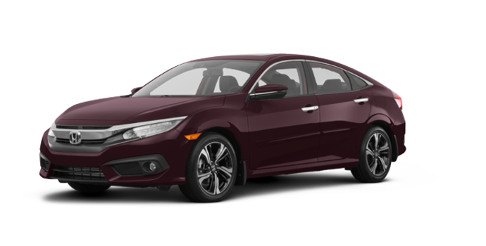 2017 Honda Civic Sedan TOURING | Photo 6 | Burgandy Nigth Pearl