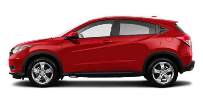 2017 Honda HR-V EX-L NAVI | Photo 4 | Milano red