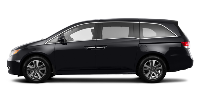 2017 Honda Odyssey TOURING | Photo 4 | Crystal Black Pearl