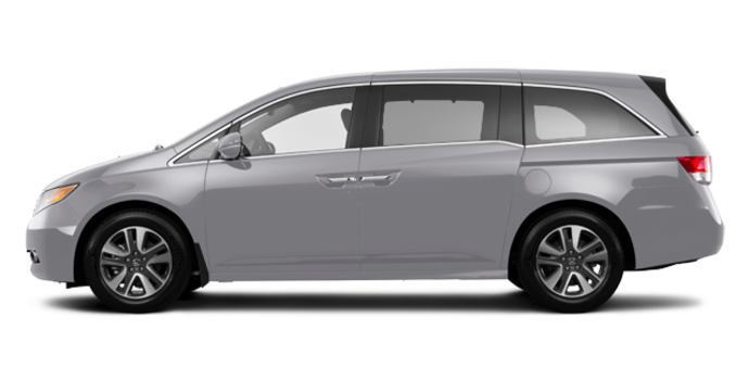 2017 Honda Odyssey TOURING | Photo 4 | Lunar Silver Metallic