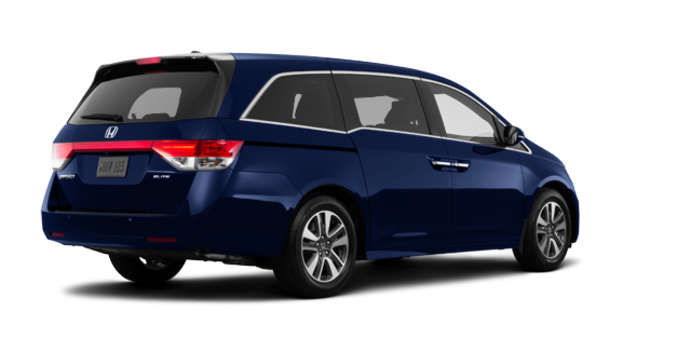 2017 Honda Odyssey TOURING | Photo 5 | Obsidian Blue Pearl