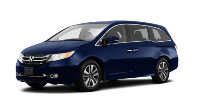 2017 Honda Odyssey TOURING | Photo 6 | Obsidian Blue Pearl