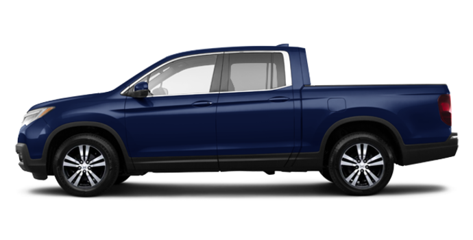 2017 Honda Ridgeline EX-L | Photo 4 | Obsidian Blue Pearl