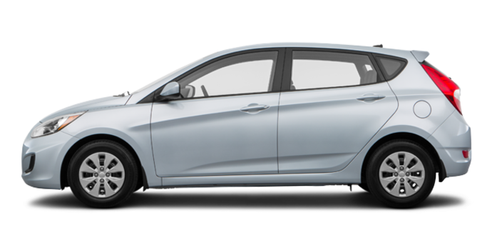 2017 Hyundai Accent 5 Doors GL | Photo 4 | Ironman Silver