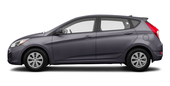 2017 Hyundai Accent 5 Doors L | Photo 4 | Triathlon Grey
