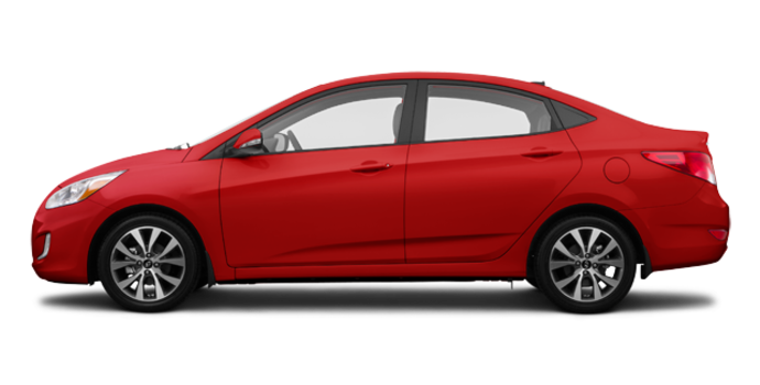 2017 Hyundai Accent Sedan GLS | Photo 4 | Boston Red