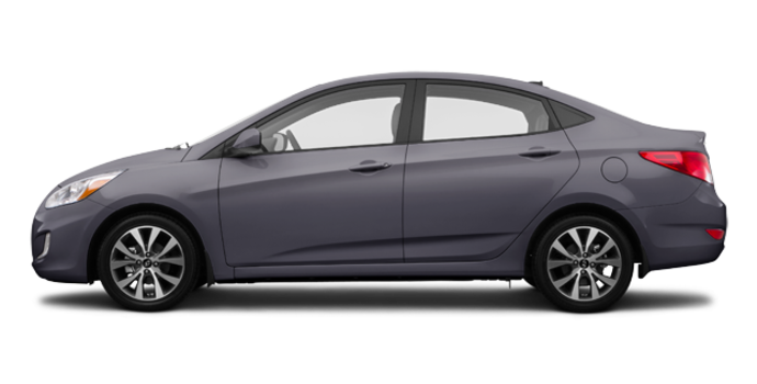 2017 Hyundai Accent Sedan L | Photo 4 | Triathlon Grey