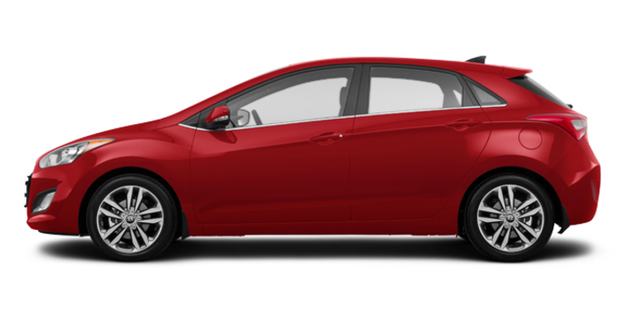 2017 Hyundai Elantra GT LIMITED | Photo 4 | Fiery Red